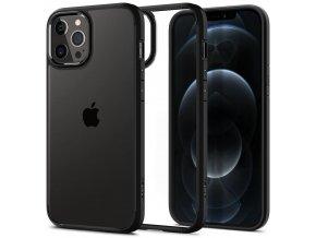 Kryt Spigen Ultra Hybrid pro iPhone 12/12 Pro Matte black