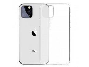 baseus transparentni kryt z mekkeho plastu pro iphone 11 pro max ciry
