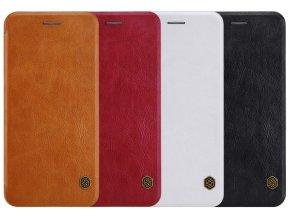Nillkin leather book pouzdro pro Apple iPhone 12/12 Pro