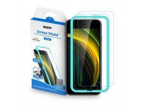 szklo hartowane esr screen shield 2pack iphone 7 8 se 2020 clear