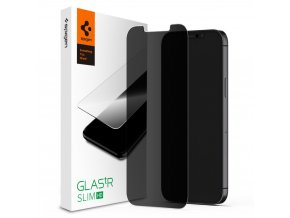 tempered glass spigen glasstr iphone 12 12 pro privacy