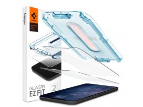 tempered glass spigen glastr ez fit 2pack iphone 12 12 pro