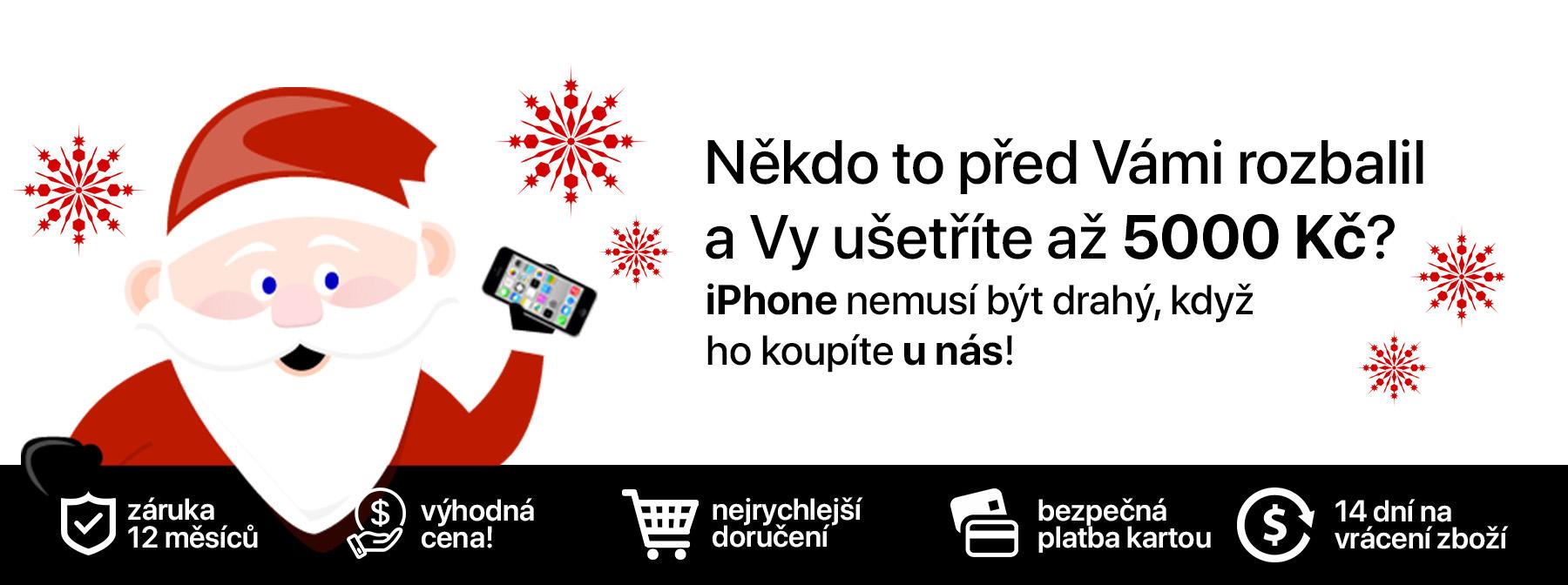 Vánoční iPhone