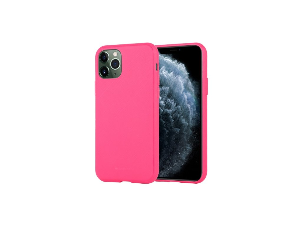 0.60160300 1570501115 for iphone 11 pro mercury goospery style lux shockproof soft tpu case rose red