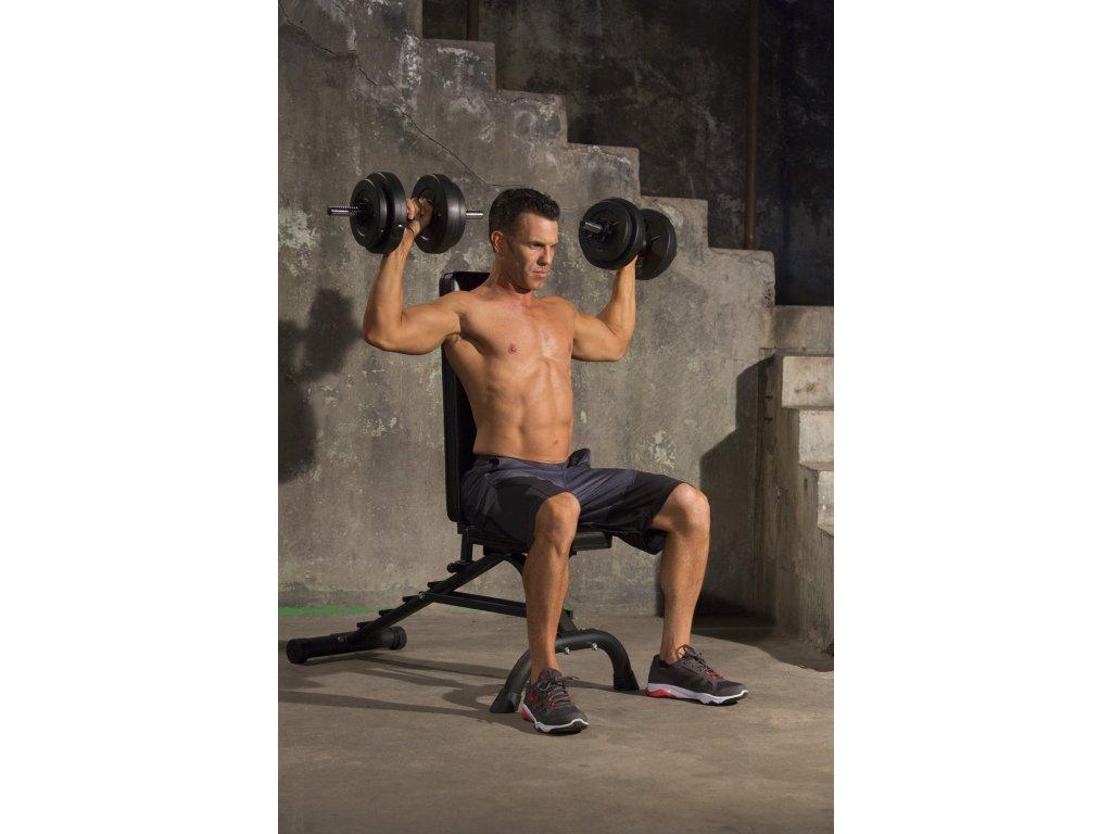 iron gym 15kg adjustable dumbbell set usage1