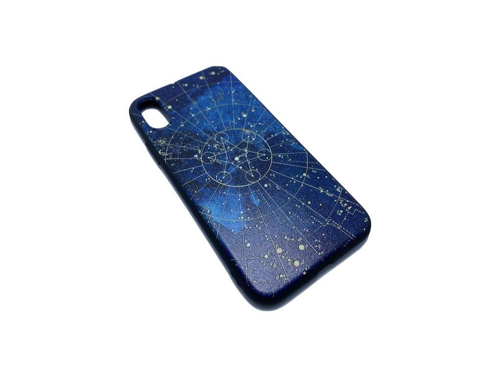 Ochranný kryt - Souhvězdí -  pro iPhone X/XS - Modrý