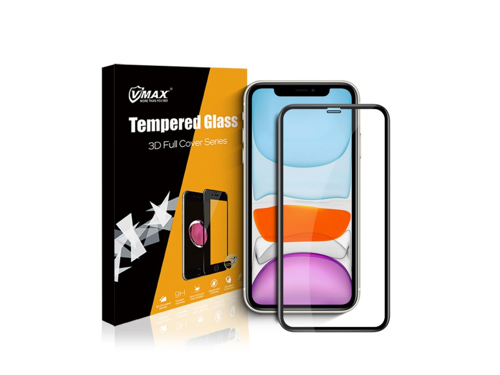 VMax - 3D ochranné sklo pro iPhone 11 / Xr