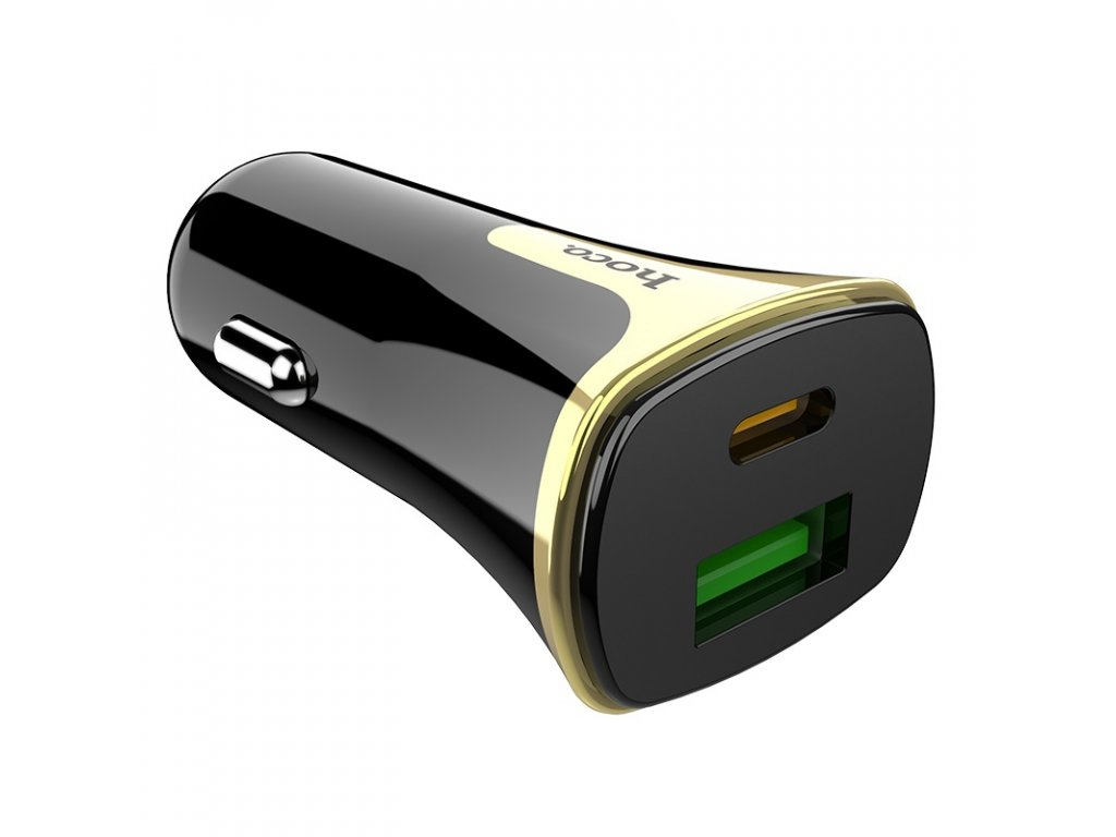 hoco z31a colossus pd qc30 car charger ports