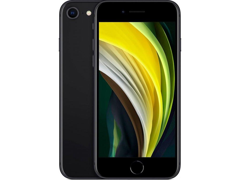 iPhone SE (2020) 64GB Black  Bezdrátová nabíječka ZDARMA