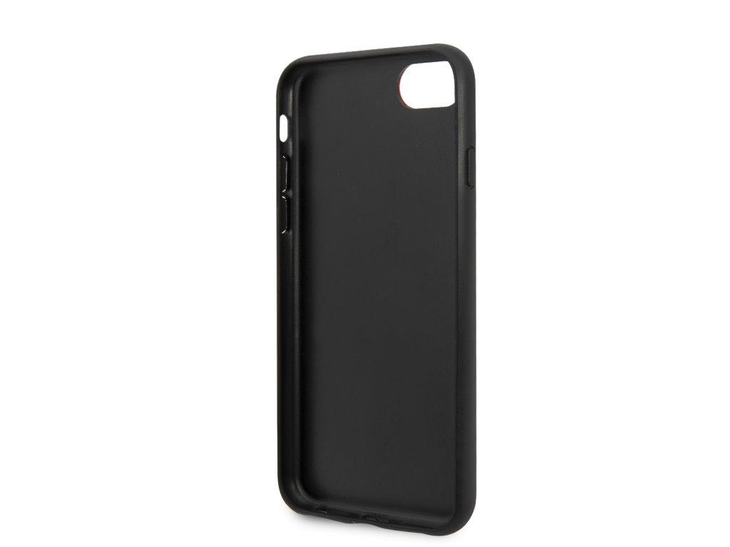 karl lagerfeld iconic glitter kryt pro iphone 7 8 cerny