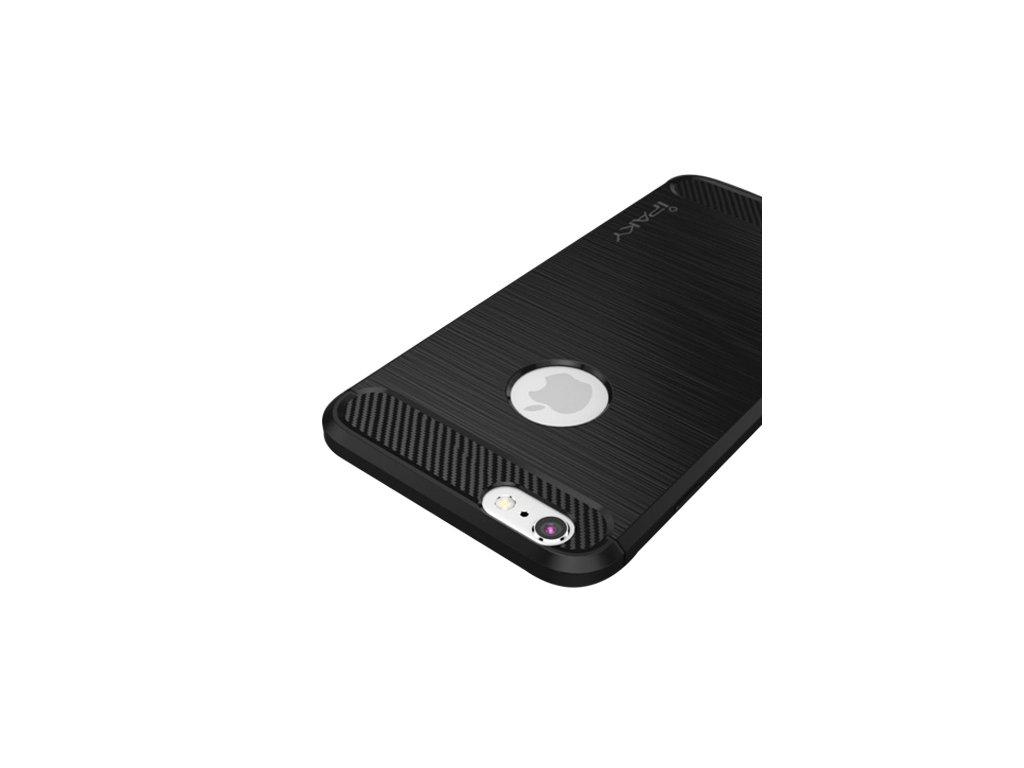 iPhone 6S:6S Plus Slim TPU Antifingerprint Case Black