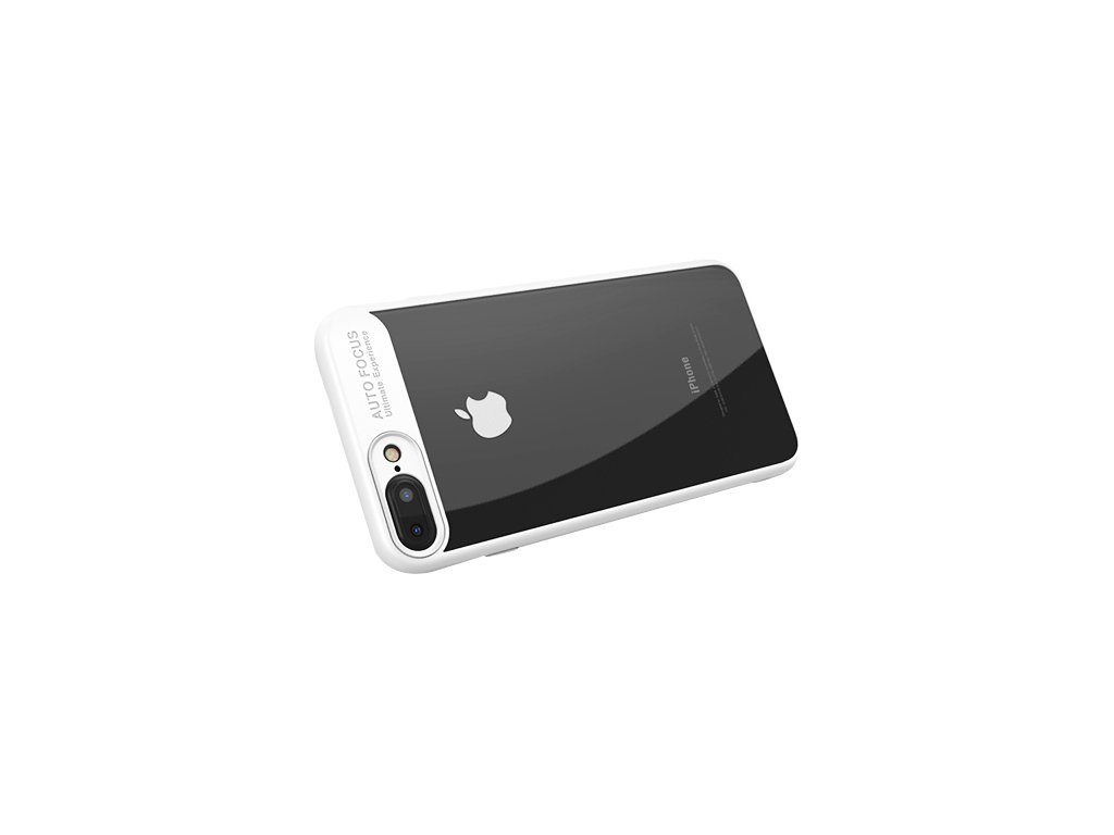 iPhone 7:8 Transparent PC Case White2