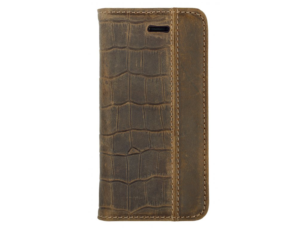 SE brown crocodile case