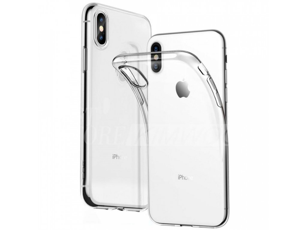 iphone xr pruhledny obal