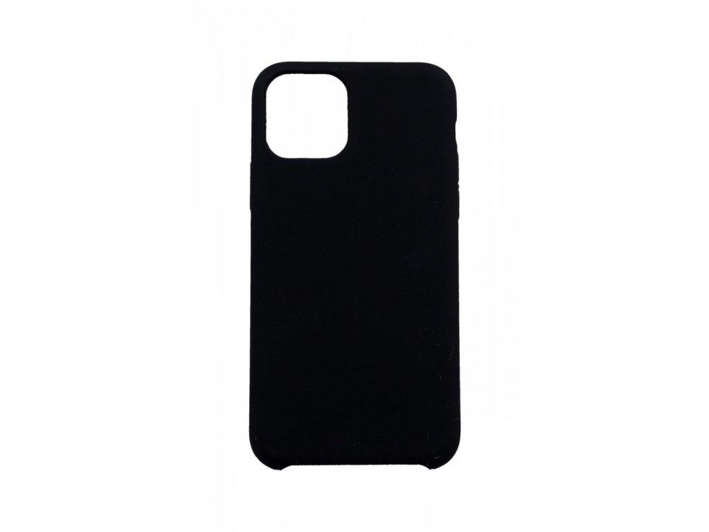 obal kryt iPhone 11 pro max swissten liquid cerny 44182