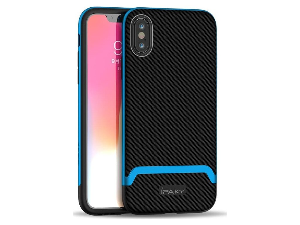 20190107031357 ipaky bumblebee neo hybrid case cover with pc frame for iphone xs x blue