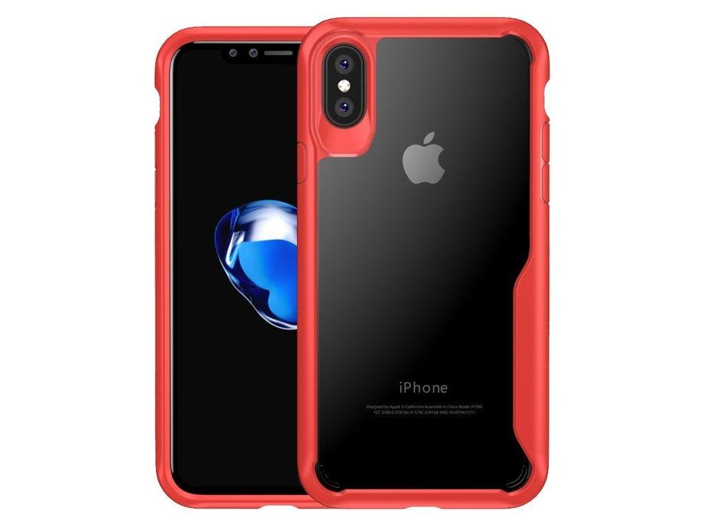Kryt na iPhone X/XS Survival series - RED