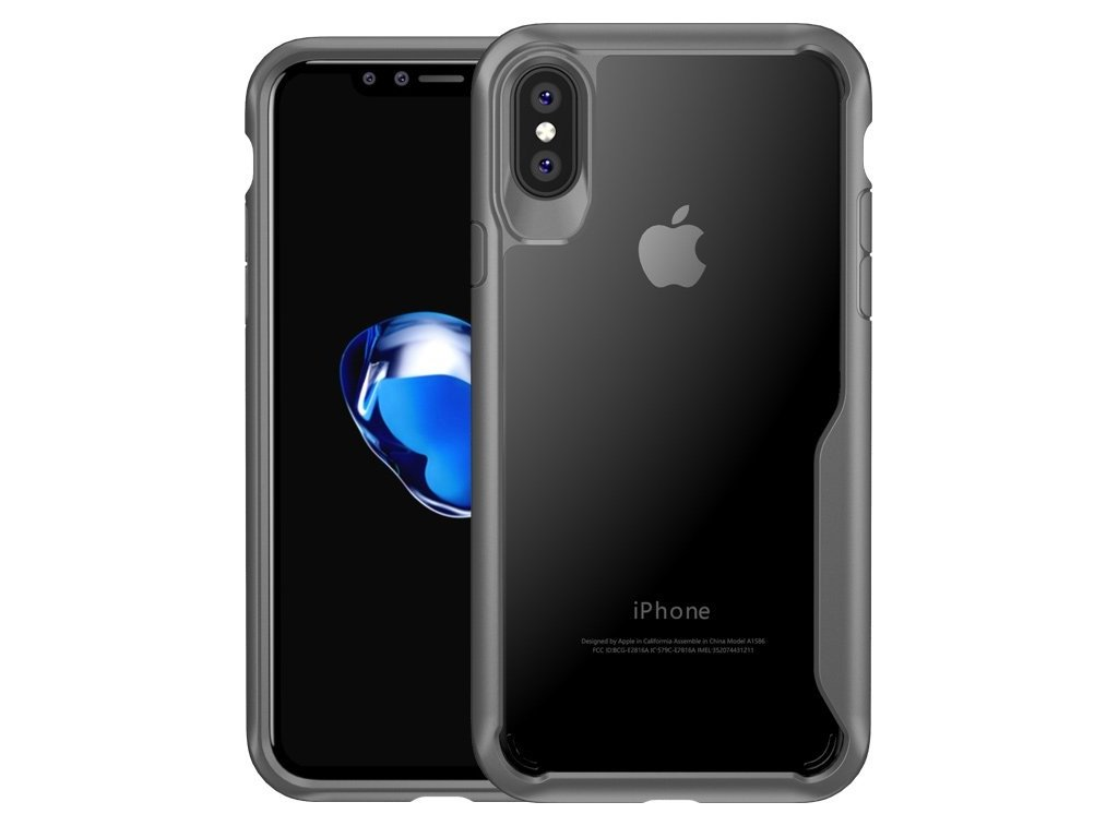 Kryt na iPhone X/XS Survival series - GREY