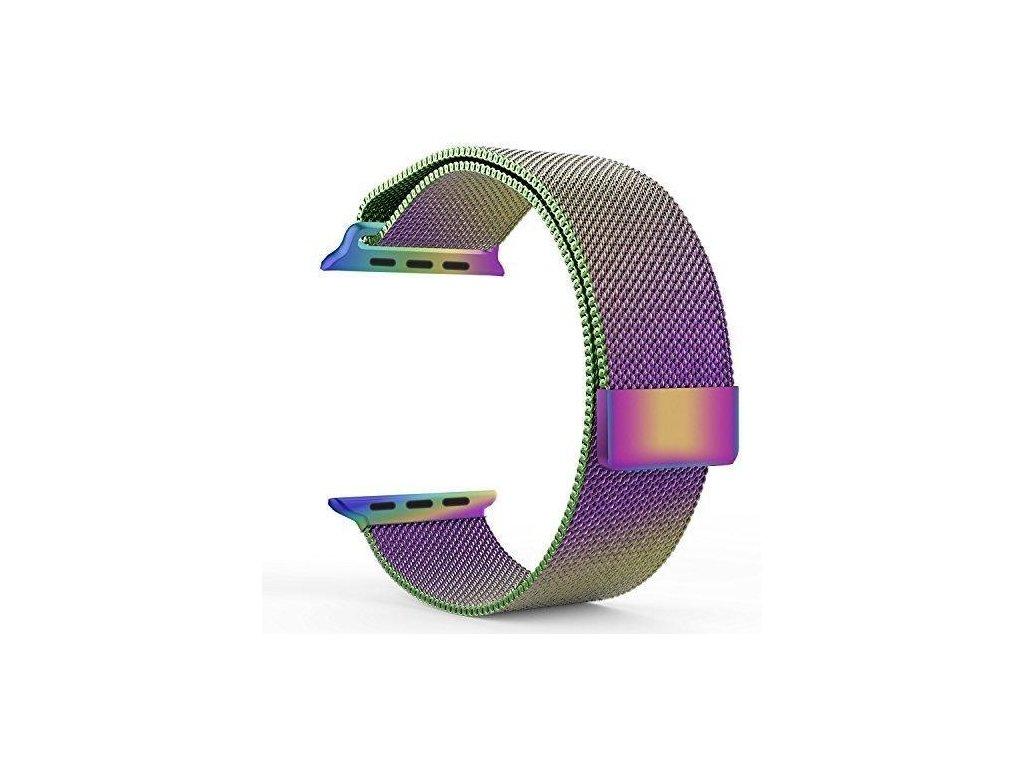 Rainbow Milanese Loop Apple Watch grande
