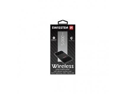 418853 3 swissten wireless slim 5000 mah 2 usb 1 microusb 1 usb c 1 lightning preto
