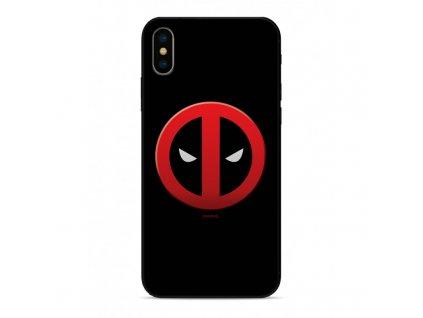 etui premium glass marvel deadpool 003 iphone 7 8 czarny