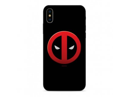 etui premium glass marvel deadpool 003 iphone 7 8 czarny