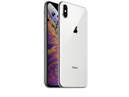 iPhone Xs - 64GB - Silver  Bezdrátová nabíječka ZDARMA