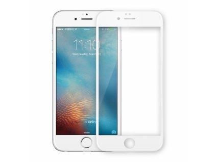 3D Extra ochranné sklo pro iPhone 7/8 Plus (BÍLÉ)