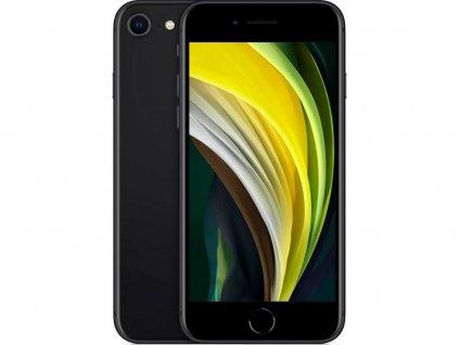 iPhone SE (2020) 128GB Black  Bezdrátová nabíječka ZDARMA