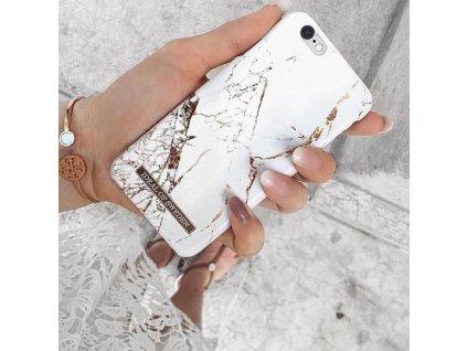 Značkový kryt - Ideal of Sweden - pro iPhone SE(2020)/8/7/6/6s - Carrara Gold