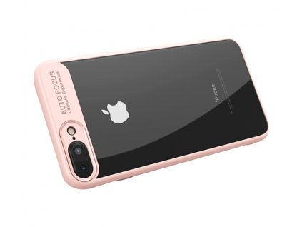 iPhone 7:8 Transparent PC Case Pink2