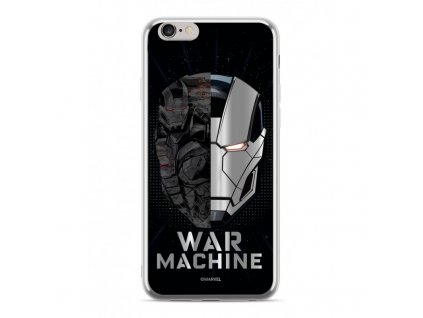 etui luxury chrome marvel war machine 001 iphone 7 8 srebrny