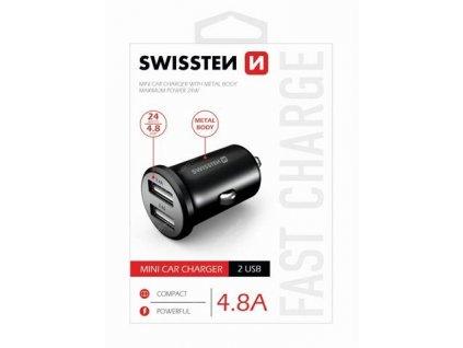 Swissten nabíjecí adaptér do automobilu