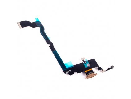 Charging Port Flex Cable for Apple iPhone XS Max Gold PAI 181 040 GD 5 81279.1559382689