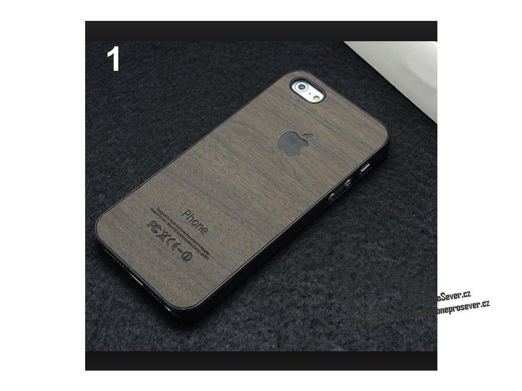 Wood kryt pro iPhone 5 8045af1b41e