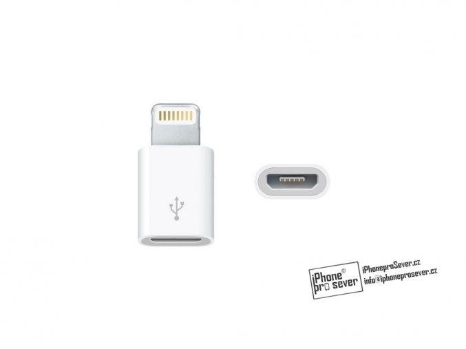Apple 8pin lightning to micro USB redukce
