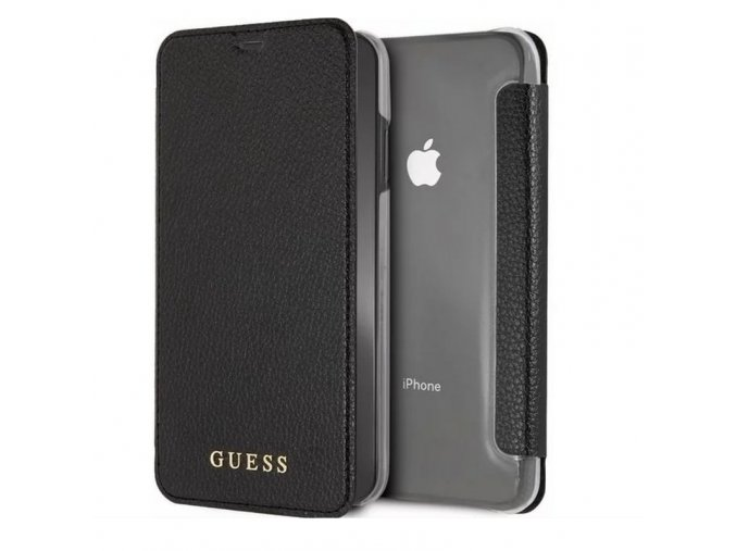 Guess XR leather book black1 min