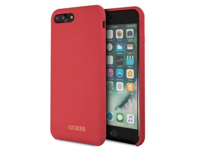 guess i7 8Plus silicone red min
