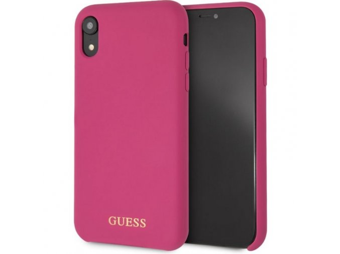 Guess XR silicone darkpink 1 min