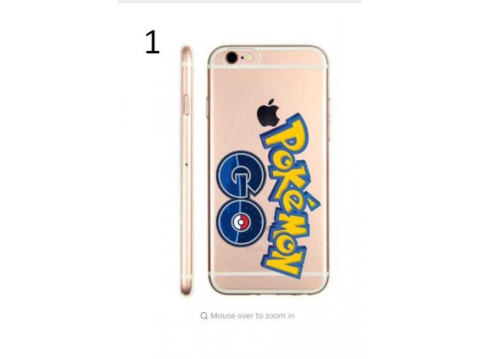 Pokemon TPU kryty pro iPhone 6,6s