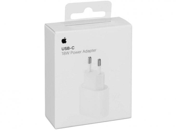 Originální Apple USB-C nabíjecí adaptér 18W