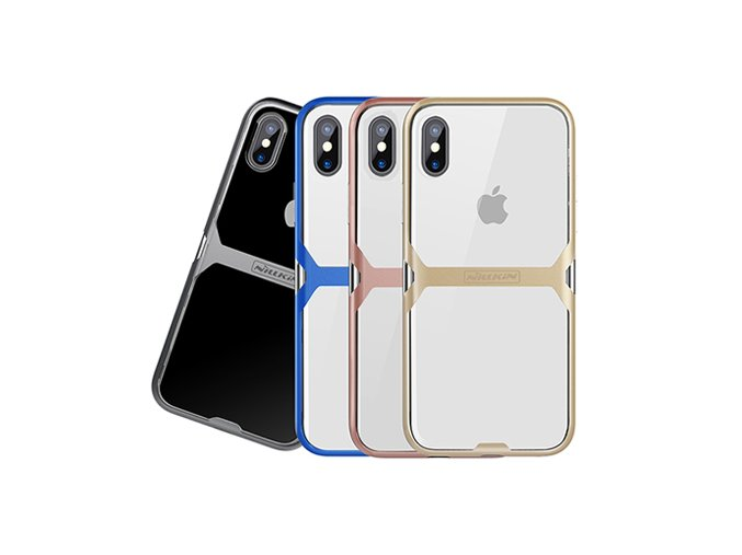 Nillkin Crystal TPU zadní kryt pro iPhone X/Xs