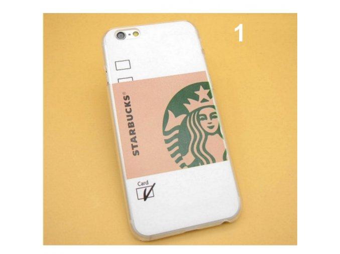 Starbucks kryty pro iPhone 5, 5s se