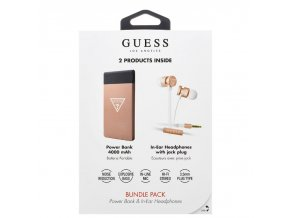 Guess two pack powerbank rose min