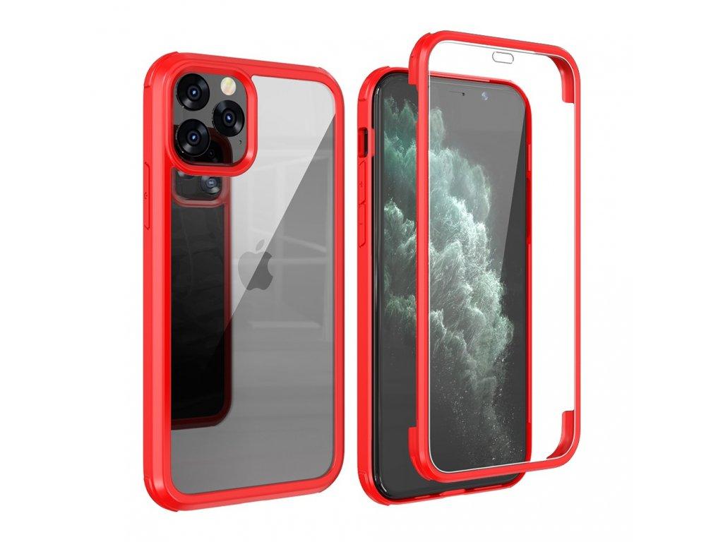 Púzdro Double side Iphone 11 PRO (Farba Červená)