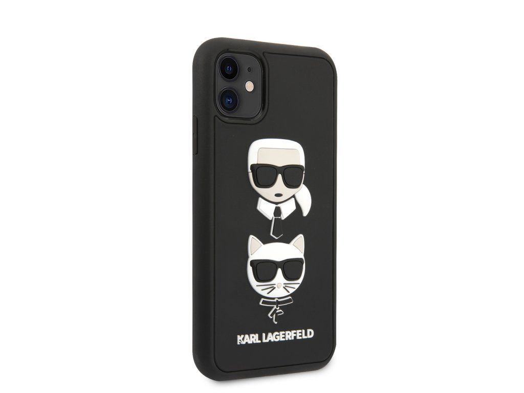 31994 klhcn61ik3dkc karl lagerfeld 3d rubber heads kryt pro iphone 11 black 7