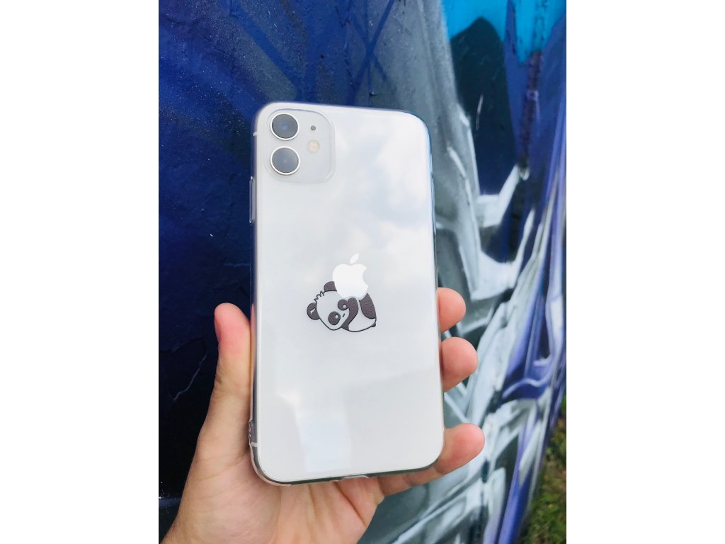 Silikónové púzdro so vzorom iPhone 11