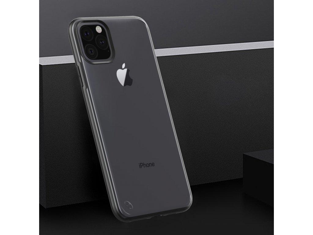 Matné plastové púzdro Drop Celar iPhone 11