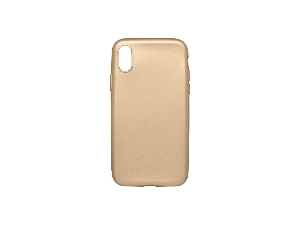 3417 gumene puzdro iphone x zlate metalicke