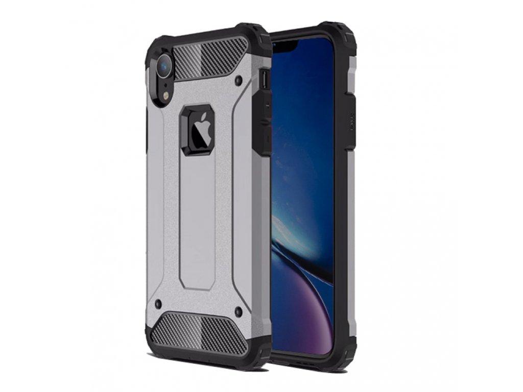 iphone xr hybrid dual layer tough armor protective case grey ipxr hc07e 1 1000x1000